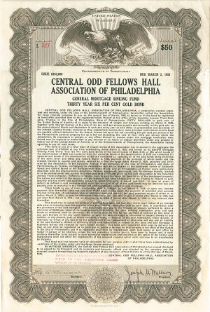 Central Odd Fellows Hall Association of Philadelphia